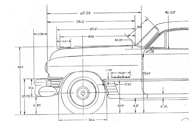 1948-1949 Cadillac Fisher Body Welding Assembly Manual Series 60 61 62 Factory